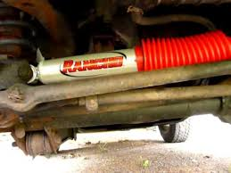 jeep steering stabilizer jeep wrangler tj steering der replacement rancho rs5000