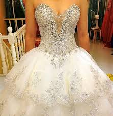 wedding dress with bling above is a strapless wedding dress with a lot of bling