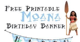 musings average mom moana birthday banner