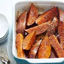 thanksgiving sweet potatoes recipes healthy sweet potato side dish recipes eatingwell