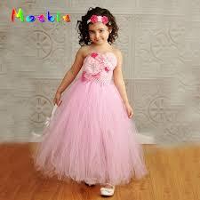 easter dresses sleeveless flower girl tutu dress photography wedding girl