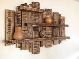rustic wood for sale sale large wall mounted rustic floating shelf solid wood