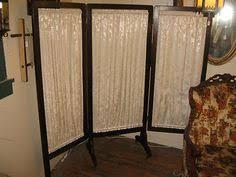Venetian Room Divider Natural Wooden Room Divider W Pocket Holders Three Panel