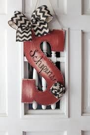Home Decor Initials Letters Best 25 Monogram Door Decor Ideas On Pinterest Initial Door
