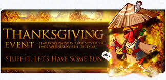 tlbb thanksgiving event stuff it let s some mmorpg