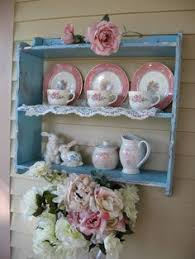 Shabby Chic Plate Rack by Shabby Chic Jewelry Box Vintage Wedding Lace Cottage Style