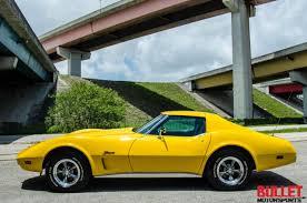 1976 corvette yellow seller of cars 1976 chevrolet corvette yellow black