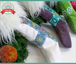 nordic faux fur u0026 ribbon christmas stockings deck the halls with
