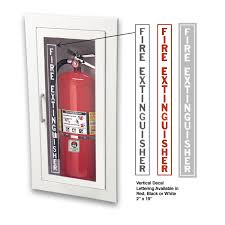 jl industries fire extinguisher cabinets jl ambassador 1015f10 recessed 10 lbs fire extinguisher cabinet