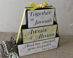 wedding gift quran we created you in pairs qur an quote personalized muslim wedding