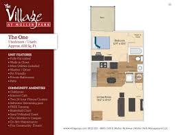 Internet Cafe Floor Plan The Village At Muller Park Apartments In Bloomington Indiana