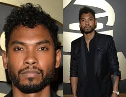 how to do miguels hair cut miguel shows off new hair on the grammy red carpet bossip