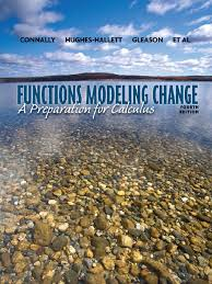 functions modeling change a preperation for calculus
