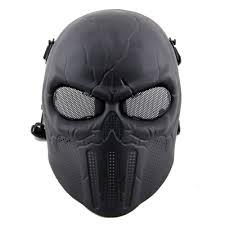 cacique skull half cool airsoft mask od m03 od 14 99