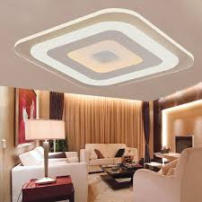 Decorative Ceilings Modern Acrylic Led Ceiling Light Fixture Living Room Bedroom