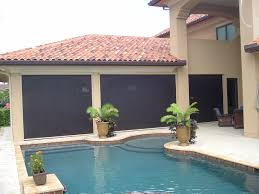 Roll Up Patio Screen by Patio Shade Solutions