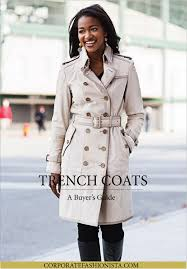 how to buy a trench coat u2014 corporate fashionista