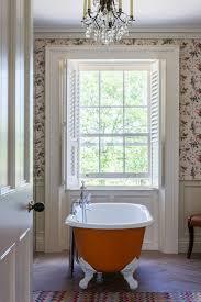 Bathroom Wallpaper Designs 122 Best Bathrooms Images On Pinterest Room Bathroom Ideas And