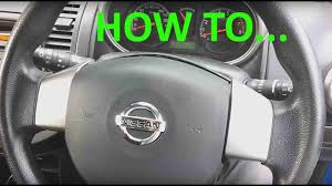 nissan grand livina spare parts nissan note steering wheel horn airbag module removal youtube