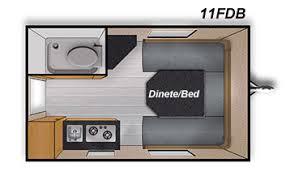 Small Rv Floor Plans Camplite11fdb Carolina Coach U0026 Marine Claremont North Carolina