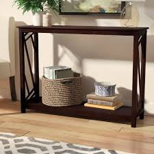 Wood Console Table Andover Mills Lavinia Wood Console Table U0026 Reviews Wayfair