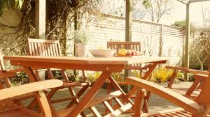 Country Outdoor Furniture by Robert Dyas Country Hardwood 6 Seater Fsc Wood Garden Furniture