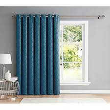 amazon com blackout curtain for sliding door patio door