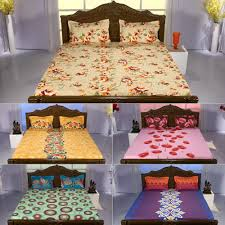 pick any 2 or pick all 5 bedsheets by mafatlal bed sheets