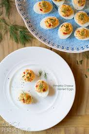 deviled egg dish pimento cheese deviled eggs a spicy perspective