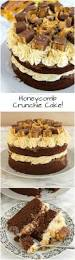 honeycomb crunchie cake chocolate sponge crunchie spread