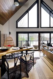 cottage interior design before and after a designer cottage in haliburton county ontario