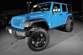 hydro blue jeep blue customized jeep wranglers car pictures