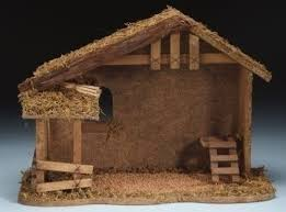 10 1 2 wooden stable fontanini
