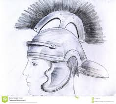 man in roman helmet stock photo image 17635250