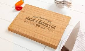 personalized engraved cutting board custom engraved cutting board personalization mall groupon