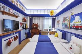 theme line blue check out these line friends themed rooms at golden tulip m hotel in