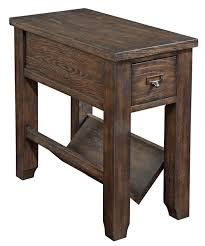 Broyhill Furniture Houston by Broyhill Furniture Attic Retreat Rustic Style Chairside Table With