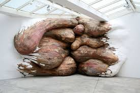 organic wood sculpture organic wooden sculptures by henrique oliveira totally nailed it