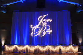 wedding backdrop monogram monogram elite entertainment elite bridal