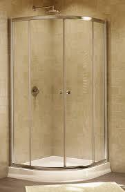 Arched Shower Door 4 Curved Glass Sliding Enclosure Artistcraft