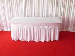 What Size Tablecloth For 6ft Rectangular Table by 6ft Rectangular Oblong Spandex Table Cloth Cover Buy Oblong