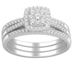 wedding ring trio sets wedding rings sets for 1 carat trio wedding ring set for
