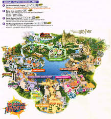 Universal Orlando Map Spiderfan Org Shows Universal Studios Florida Islands Of