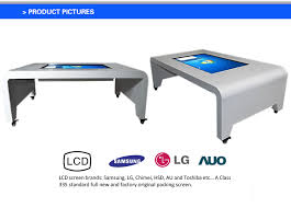 Touch Screen Coffee Table by Ideum Platform 46 Coffee Table Smart Touch Screen Kiosk All In One