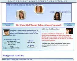 bb u0026n cosmetology directory mini website sample templates