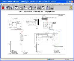 alternator voltage regulator alternator on 1987 chrysler 5th ave