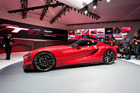 brand new toyota toyota ft 1 concept first look motor trend