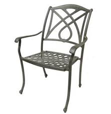 Cast Aluminium Outdoor Furniture by Aluminum Bistro Chair Cast Aluminium Antique Restaurant Armchair