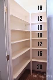 How To Build Wood Shelf Supports by The 25 Best Pantry Shelving Ideas On Pinterest Pantry Ideas