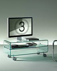 c u0026c large the curved glass coffee table u2013 fiam italia